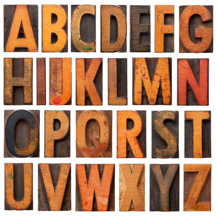 The alphabet, an easy memory tool. ©iStockphoto.com/marekuliasz