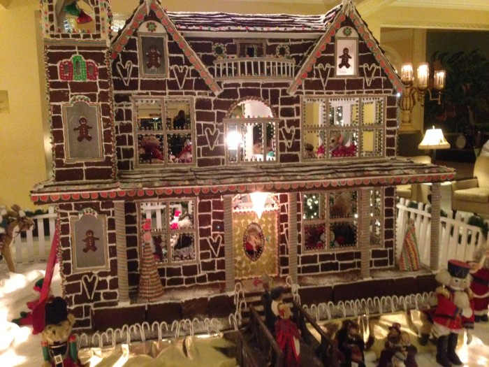 Gingerbread House at the Arlington Resort Hotel, Hot Springs, Arkansas.