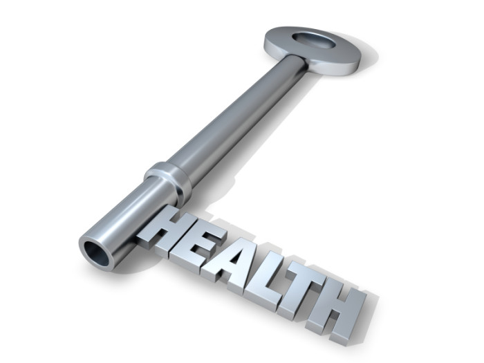 Key to good health. ©istockphoto.com/autorock