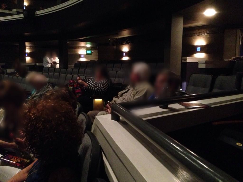 Too many vacant seats. ©D.L. Ewbank