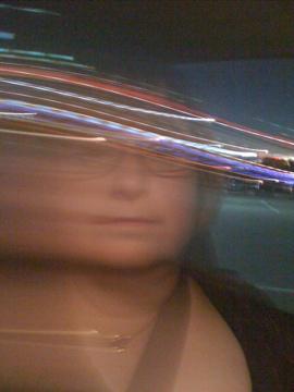 Blurred selfie. ©D.L. Ewbank