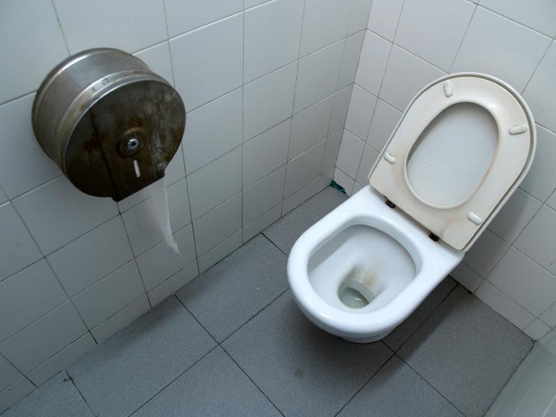 Public bathroom. ©iStockphoto/JordiDelgado.