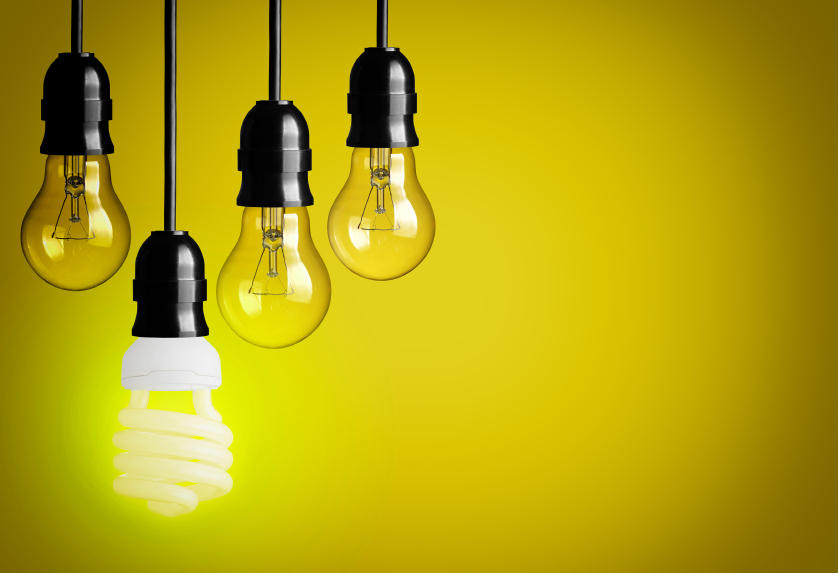 A brighter bulb. ©iStockphoto/choness